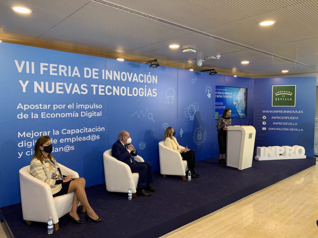 AionSur Dipu-Feria-Sevilla En marcha la VII edición de la Feria de Innovación y Nuevas Tecnologías de la Diputación de Sevilla Diputación