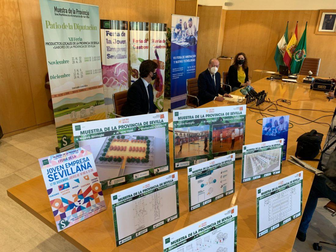 AionSur Diputacion-ferias-1 La Diputación de Sevilla recupera sus ferias de muestras con todas las garantías sanitarias Prodetur