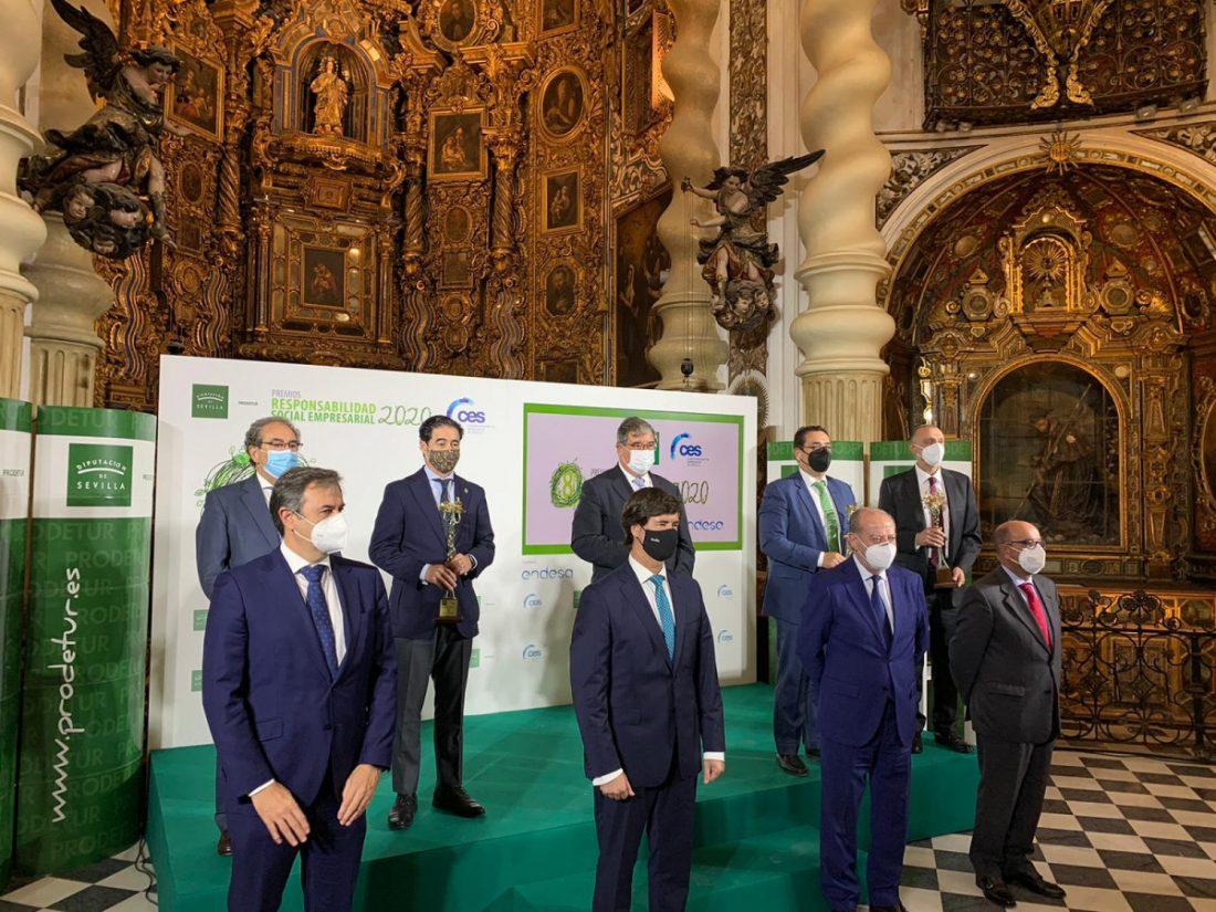 AionSur: Noticias de Sevilla, sus Comarcas y Andalucía Diputacion-premios La Diputación de Sevilla entrega sus VIII Premios de Responsabilidad Social Empresarial Prodetur
