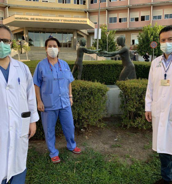 AionSur IMG_3858-560x600 Una mujer de 29 años con hemorragia cerebral logra dar a luz con éxito en el Virgen del Rocío Hospitales