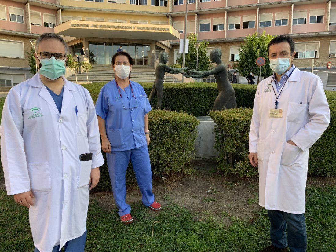 AionSur: Noticias de Sevilla, sus Comarcas y Andalucía IMG_3858 Una mujer de 29 años con hemorragia cerebral logra dar a luz con éxito en el Virgen del Rocío Hospitales