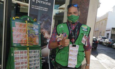 AionSur Jose-Antonio-Gahete-Cuponazo-Coria-400x240 El Cuponazo de la ONCE reparte 250.000 euros entre 10 vecinos de Coria del Río Provincia