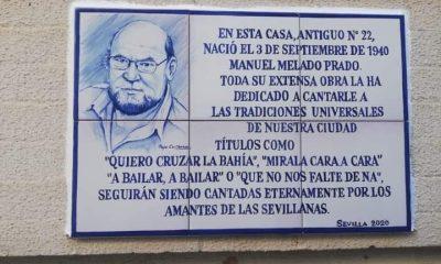 AionSur Manuel-Melado-400x240 La casa natal de Manuel Melado se señaliza con un azulejo para la historia Cultura destacado