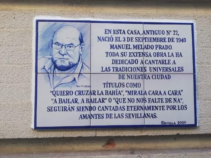 AionSur: Noticias de Sevilla, sus Comarcas y Andalucía Manuel-Melado La casa natal de Manuel Melado se señaliza con un azulejo para la historia Cultura destacado