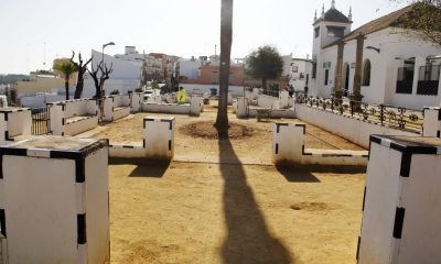 AionSur Plaza-Espana-Alcala-guadaira-min-400x240 Alcalá recupera la antigua estampa regionalista de su Plaza de España Alcalá de Guadaíra