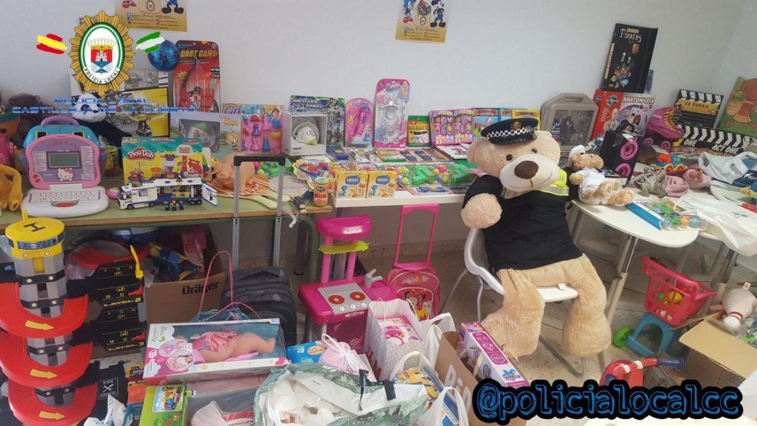 AionSur castilleja-juguetes Arranca una nueva recogida de juguetes por la Policía de Castilleja Castilleja de la Cuesta
