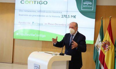 AionSur diputacion-presidente-400x240 'Plan Contigo' de la Diputación de Sevilla: 211 millones para toda la provincia Diputación