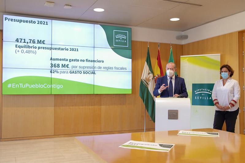 AionSur diputacion-presupuesstos La Diputación de Sevilla manejará en 2021 un presupuesto de 471 millones Diputación destacado
