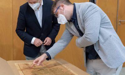 AionSur plano-marchena-400x240 Marchena deposita en el Instituto Andaluz de Patrimonio Histórico valiosa documentación histórica Marchena