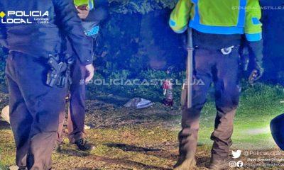 AionSur policia-castilleja-1-400x240 Denunciados 17 jóvenes, tres de ellos menores, en un botellón de madrugada en Castilleja Castilleja de la Cuesta