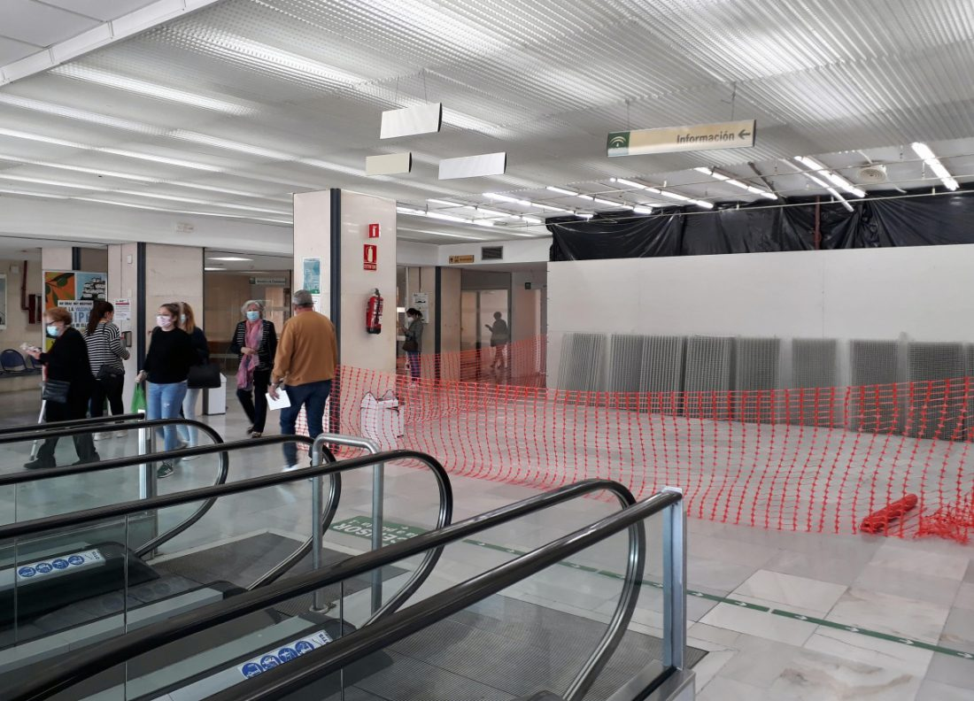 AionSur vestibulo-principal-min El Hospital de Valme reordena el vestíbulo principal para mejorar su accesibilidad Hospitales