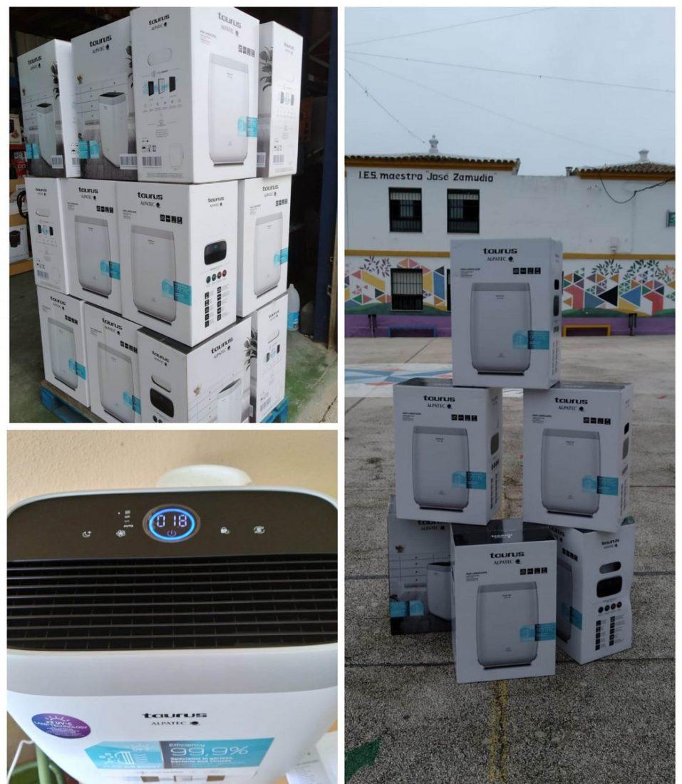 AionSur: Noticias de Sevilla, sus Comarcas y Andalucía 131295358_1091657144587769_1785689991214685642_o-min Pruna instala purificadores en sus centros educativos Pruna