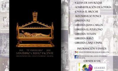 AionSur 133697153_3724394230937536_5806860749447567924_n-min-400x240 El Santo Entierro de Arahal celebra el 75 aniversario del Cristo Yacente con un libro solidario  Arahal destacado