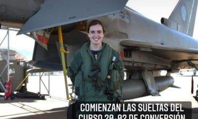AionSur 30e93503-3846-4059-a6bd-e0f42b1853b4-min-400x240 La Base de Morón, escenario de la prueba de vuelo de la primera mujer piloto de Eurofighter de España Sociedad destacado