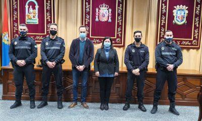 AionSur 30fb18d4-e26e-4805-8251-e65fbec9b54d-min-400x240 Nuevo Jefe de Policía en Marchena y tres agentes juran el cargo Marchena destacado