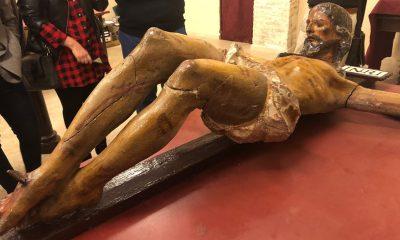 AionSur IMG_9299-min-1-400x240 Una partida de los presupuestos de 2021 de Arahal, destinada a la restauración de un Cristo del XVII propiedad de la Misericordia Arahal destacado