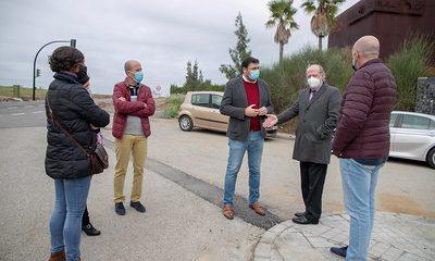 AionSur carretera-guillena-400x240 La carretera Guillena-Las Pajanosas mejora con fondos del Supera Guillena