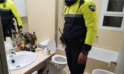 AionSur catilleja-min-400x240 Desalojada una fiesta ilegal en un hotel de Bormujos y denunciados 16 jóvenes Bormujos