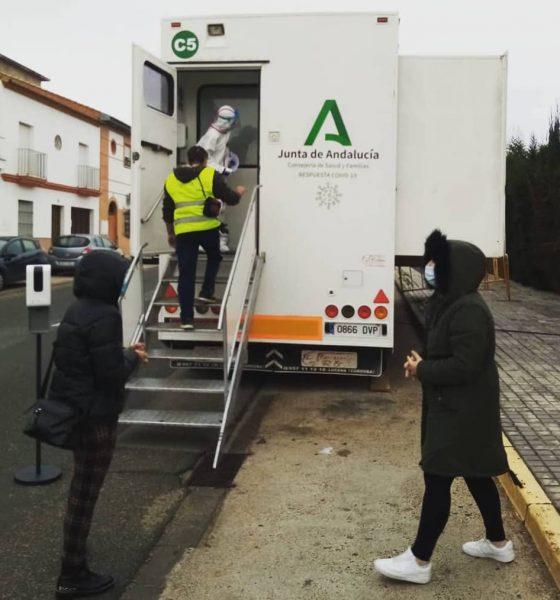 AionSur test-covid-gerena-560x600 Nuevos cribados poblacionales en Pruna, Umbrete y Benacazón Benacazón Provincia Pruna