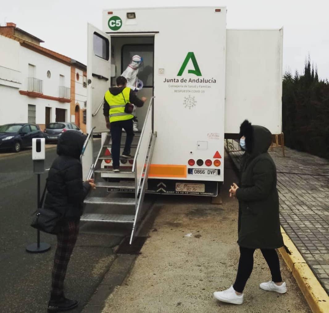 AionSur: Noticias de Sevilla, sus Comarcas y Andalucía test-covid-gerena Nuevos cribados poblacionales en Pruna, Umbrete y Benacazón Benacazón Provincia Pruna