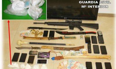 AionSur utrera-drogas-400x240 Desarticulada en Utrera una organización criminal y desmantelados tres puntos de venta de cocaína Sucesos