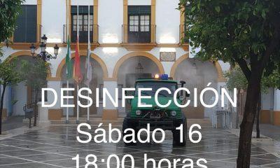 AionSur 137507925_2773721206177832_2517099557937722029_n-min-1-400x240 Nueva desinfección de calles en La Puebla, municipio de la comarca con la tasa más alta de contagios La Puebla de Cazalla destacado