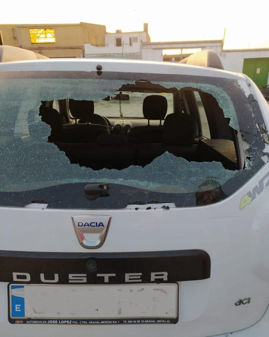 AionSur: Noticias de Sevilla, sus Comarcas y Andalucía 20de892b-838a-4125-a04b-87498cbc2653-min Una vecina de Arahal denuncia continuos actos vandálicos contra su coche Arahal destacado