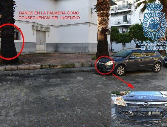 AionSur Ecija-1-min-560x427 Detenido el presunto autor de la quema de contenedores en Écija Ecija