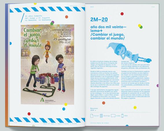 AionSur IAM-libro-2 La Junta recopila en un libro 25 años de campañas contra el juguete sexista Sociedad destacado
