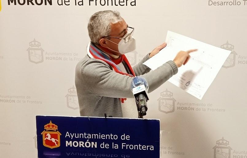 AionSur Ignacio-Cala-RP080121-2RRSS-min Dos calles céntricas de Morón, más cerca de mejorar su accesibilidad peatonal Morón de la Frontera