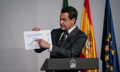 AionSur Juanma-Moreno-400x240 Andalucía cierra sus provincias y prohíbe reuniones de más de cuatro personas Coronavirus destacado