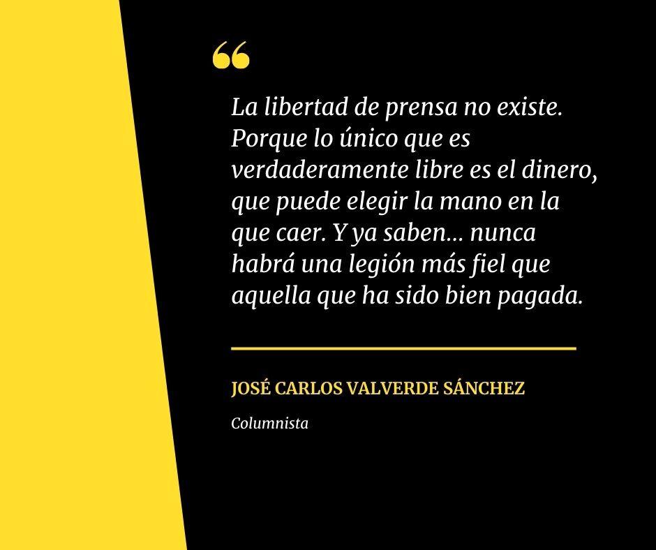 """AionSur: Noticias de Sevilla, sus Comarcas y Andalucía La-libertad-de-prensa-no-existe.-Porque-lo-unico-que-es-verdaderamente-libre-es-el-dinero-que-puede-elegir-la-mano-en-la-que-caer """"La crítica es la mayor estafa que te vende una línea editorial que depende de una inyección económica, y del gobierno de turno"""" Opinión"""