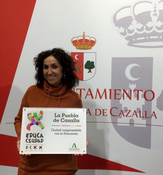 AionSur Lucia-Munoz-min-560x600 La Puebla de Cazalla revalida el premio Educaciudad La Puebla de Cazalla