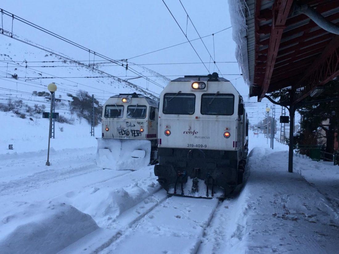 AionSur Temporal-tren Andalucía recupera el tráfico ferroviario con Madrid Sucesos destacado