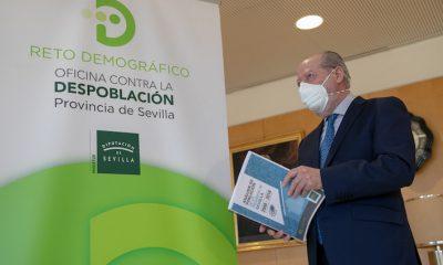 AionSur Villalobos-Oficina-400x240 La Diputación de Sevilla presenta al Gobierno 20 proyectos contra la despoblación Diputación