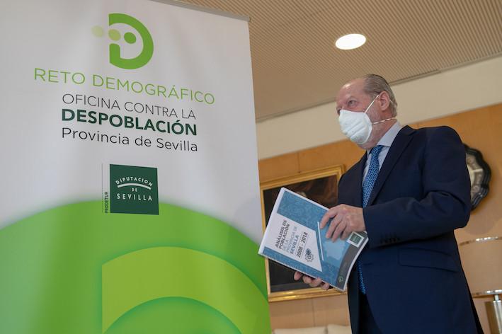 AionSur: Noticias de Sevilla, sus Comarcas y Andalucía Villalobos-Oficina La Diputación de Sevilla presenta al Gobierno 20 proyectos contra la despoblación Diputación