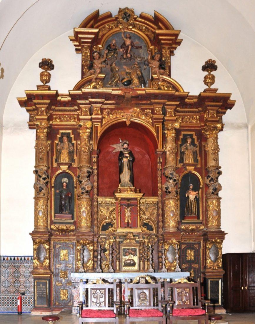 AionSur: Noticias de Sevilla, sus Comarcas y Andalucía iglesia-lepe Un equipo de expertos restaurará el retablo mayor de la iglesia de Santo Domingo en Lepe Cultura