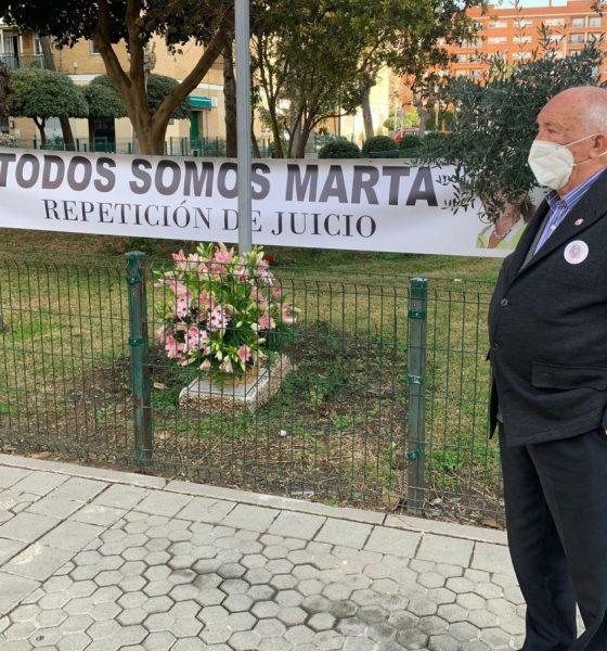 """AionSur marta-del-castillo-abuelo-560x600 El abuelo de Marta a los asesinos: """"Que nos digan dónde está aunque sea con un anónimo"""" Sucesos destacado"""