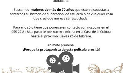 AionSur: Noticias de Sevilla, sus Comarcas y Andalucía 151213320_1131614980591985_7680774593719356270_o-min-400x240 Pruna busca historias de mujeres mayores de 70 años para celebrar el 8 de marzo Pruna