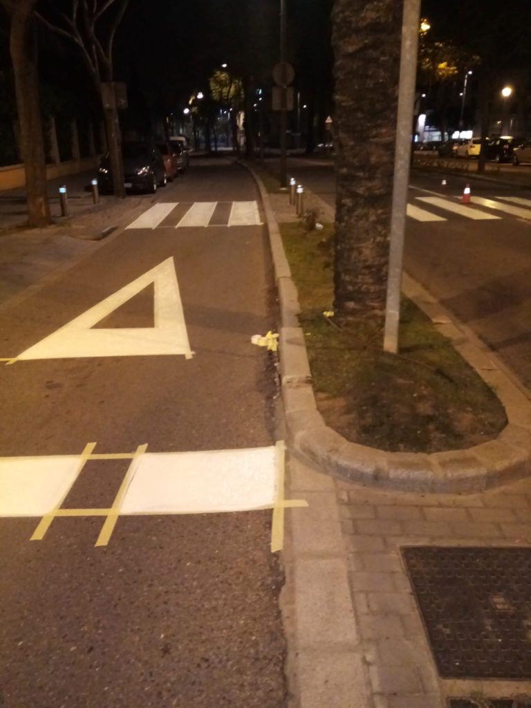 AionSur: Noticias de Sevilla, sus Comarcas y Andalucía Asfaltado-calles-2-min Alcalá repinta sus calles para mejorar la señalización viaria en el casco urbano Alcalá de Guadaíra