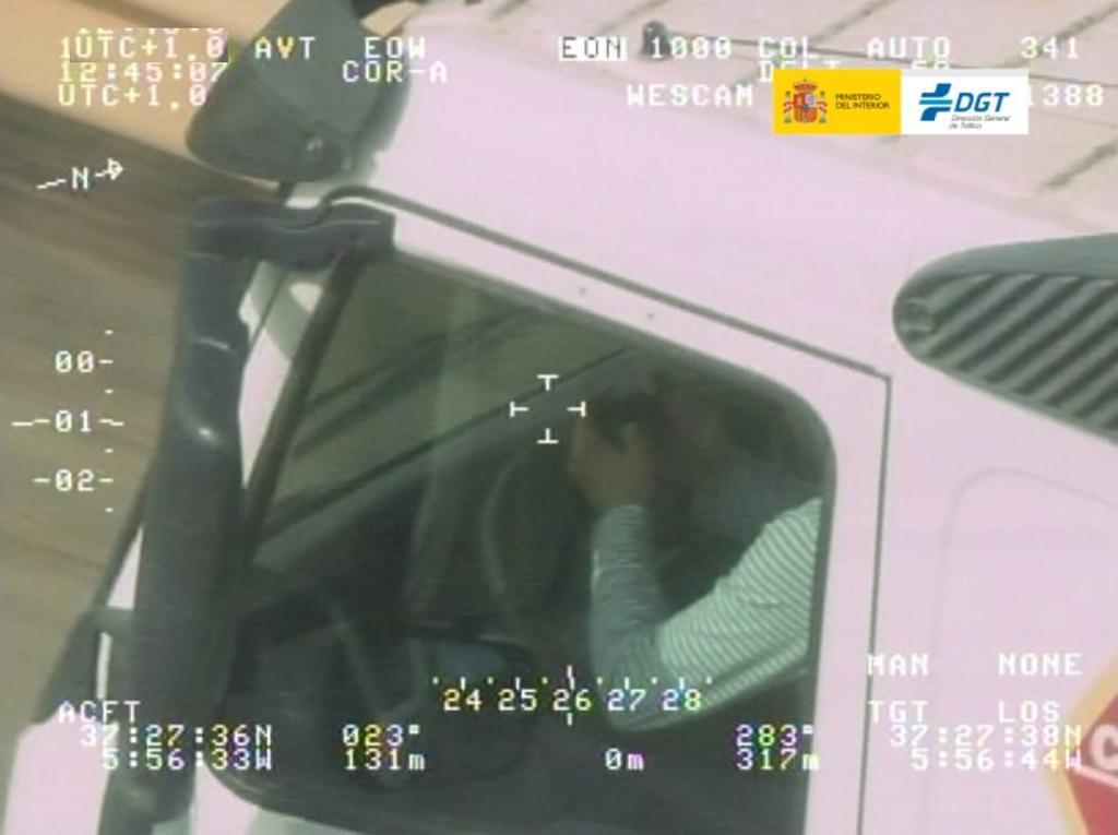 Nueva campaña DGT: vigilarán furgonetas, camiones y autobuses en las carreteras de Sevilla