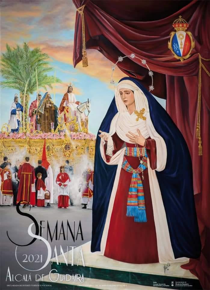 AionSur: Noticias de Sevilla, sus Comarcas y Andalucía IMG-20210206-WA0007-min La Hermandad de la Borriquita ilustra el cartel de la Semana Santa de Alcalá 2021  Alcalá de Guadaíra