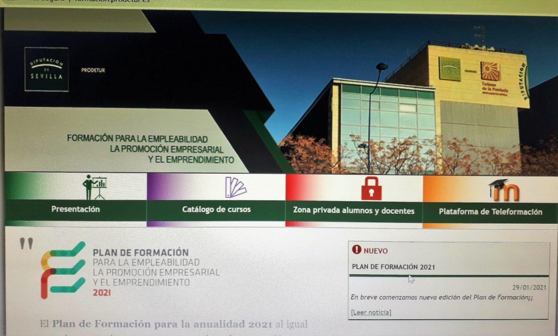 AionSur: Noticias de Sevilla, sus Comarcas y Andalucía Prodetur-cursos Prodetur activa su Plan de Formación para la Empleabilidad Prodetur