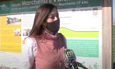 AionSur: Noticias de Sevilla, sus Comarcas y Andalucía Teresa-Jimenez-via-verde-400x240 Nueva vida y nueva señalización para la vía verde de Marchena Marchena destacado