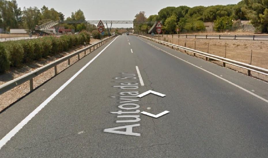 AionSur: Noticias de Sevilla, sus Comarcas y Andalucía autovia Cinco heridos en un accidente en la A-4 a su paso por Carmona Sucesos destacado