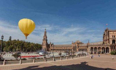 AionSur: Noticias de Sevilla, sus Comarcas y Andalucía globos-sevilla-400x240 Proponen celebrar la Feria de Abril bailando sevillanas en globo Sevilla