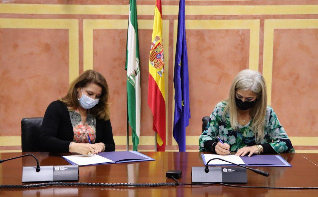 AionSur: Noticias de Sevilla, sus Comarcas y Andalucía 210301_Convenio-Cultura-firma-min-scaled Desarrollo Sostenible y Cultura colaboran para poner en valor el patrimonio cultural y natural del medio rural andaluz Andalucía