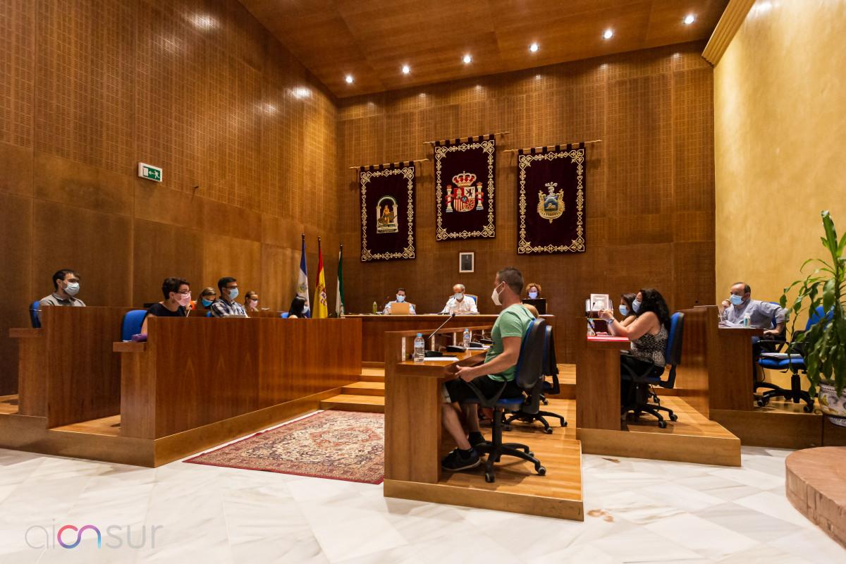 AionSur: Noticias de Sevilla, sus Comarcas y Andalucía 30072020-IMG_2582-min Arahal celebra su primer pleno presencial después de ocho meses de convocatorias telemáticas Arahal destacado