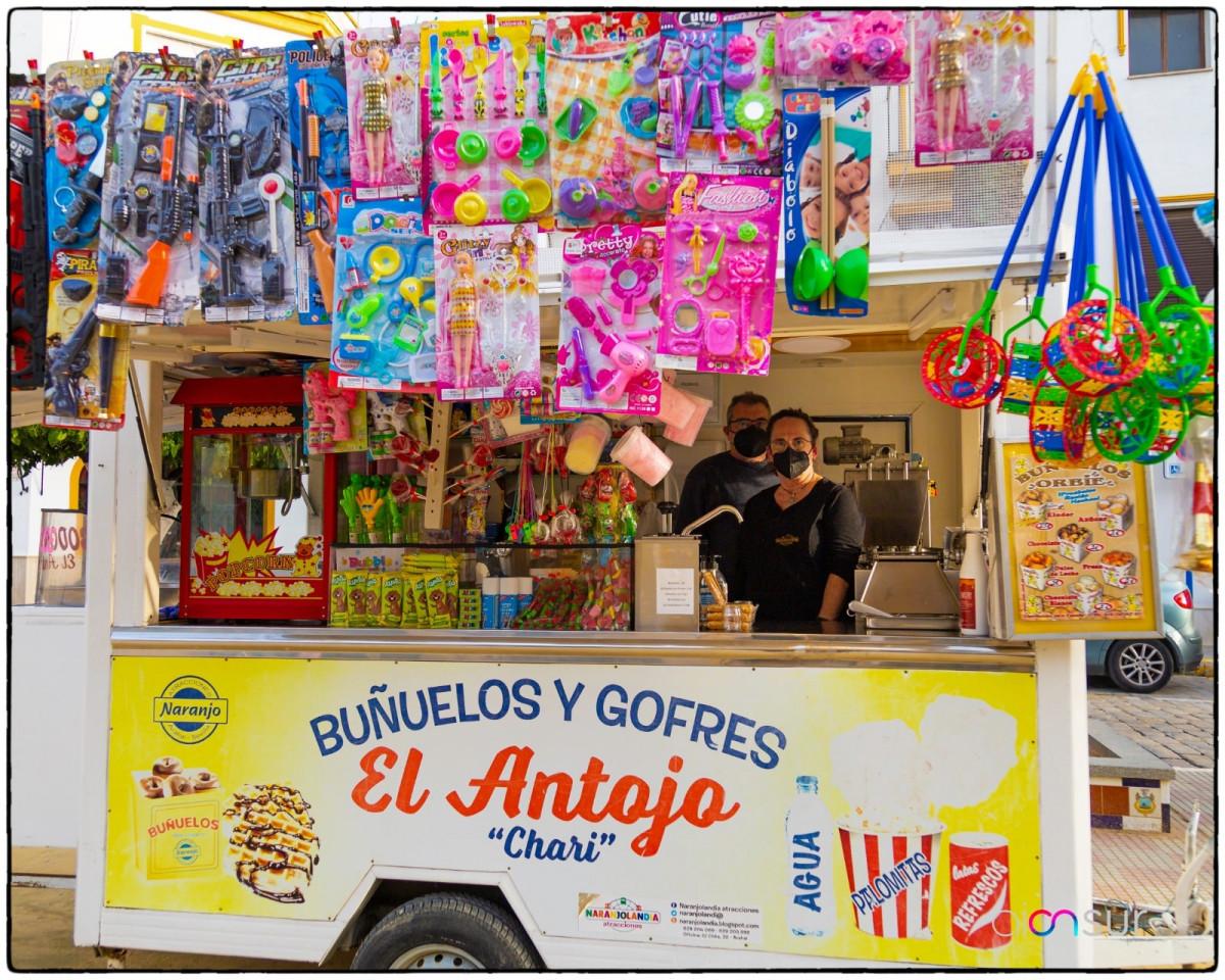 """AionSur: Noticias de Sevilla, sus Comarcas y Andalucía 43d662ee-c405-486e-a2f4-a96c8edc2bc8-min Buñuelos y manzanas de caramelo para """"sobrevivir"""" a la covid hasta 2022 Arahal destacado"""