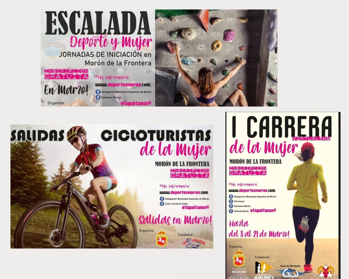 AionSur: Noticias de Sevilla, sus Comarcas y Andalucía Diseno-sin-titulo-2-min Actividades para fomentar la igualdad en el Deporte en Morón de la Frontera Deportes